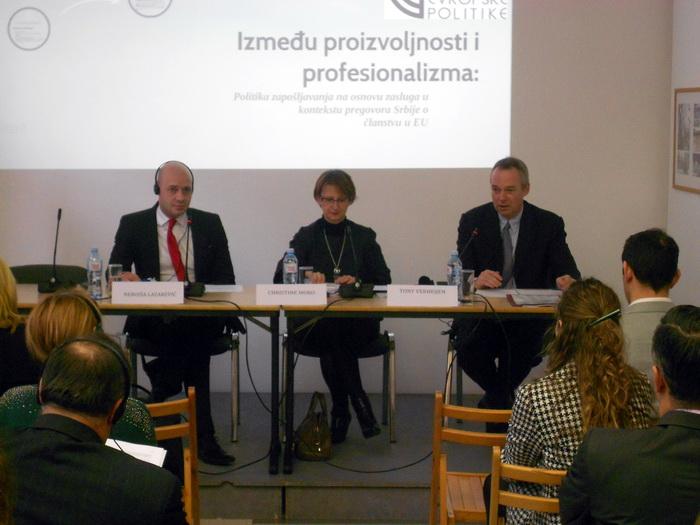 Soutien la r forme de l administration publique la for Chambre de commerce franco serbe