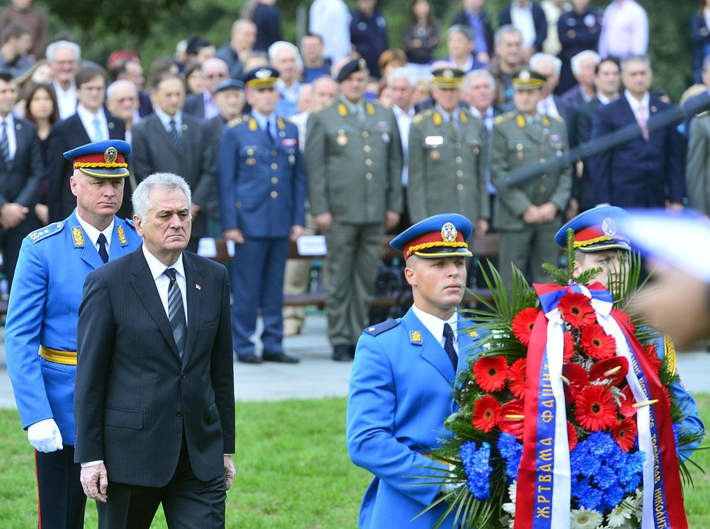 Participation la c r monie nationale comm morative de for Chambre de commerce franco serbe