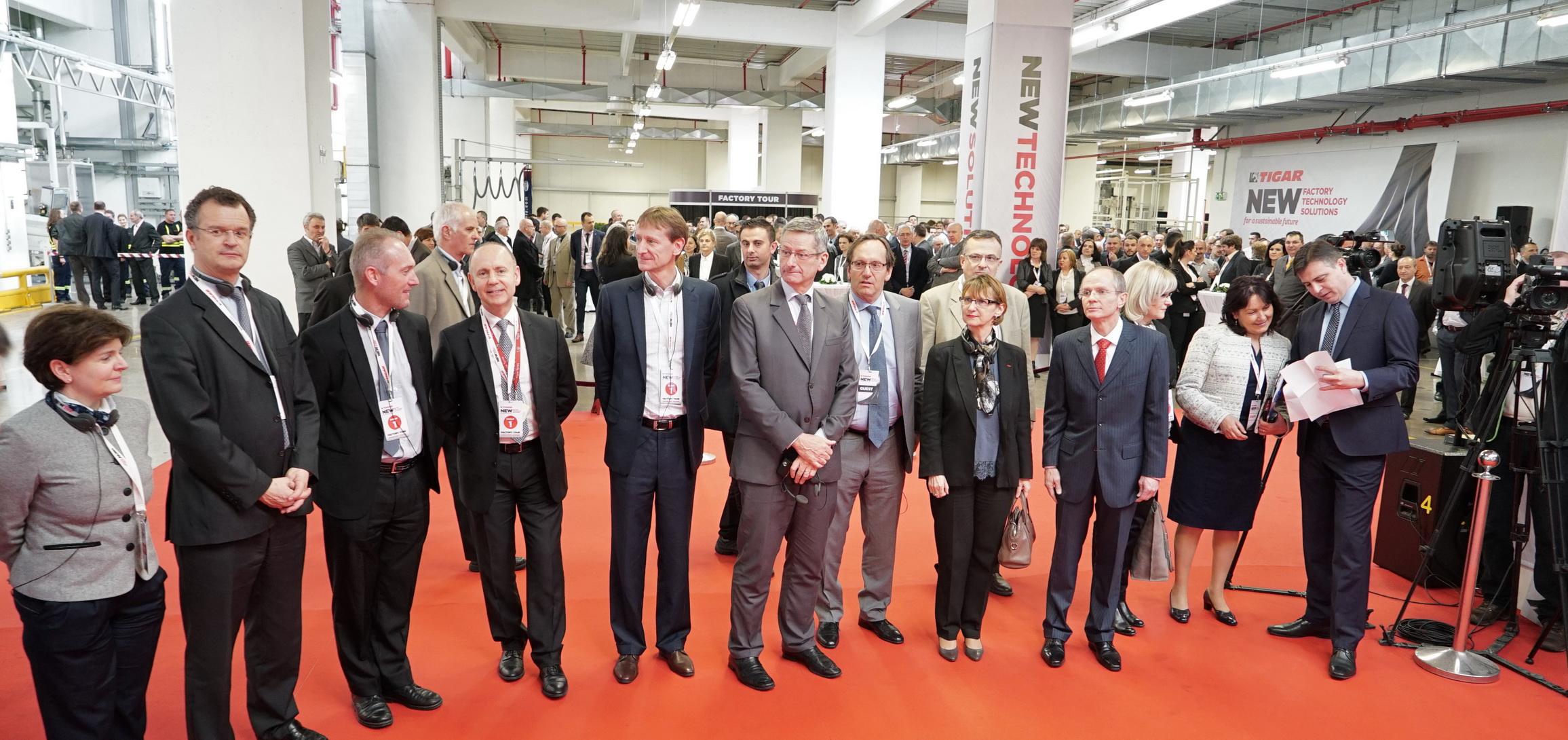 Extension de l usine de tigar filiale de michelin for Chambre de commerce franco serbe
